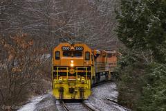 BPRR 3330 @ Rossiter, PA (Dan A. Davis) Tags: buffalopittsburgh bprr bp geneseewyoming gwrr sd403 sd452 sd70m2 sd402 freighttrain railroad locomotive train rochestermills rossiter pa pennsylvania
