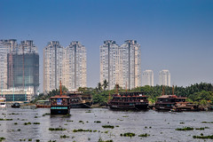 Saigon river (Valdas Photo Trip) Tags: vietnam ho chi minh city saigon river