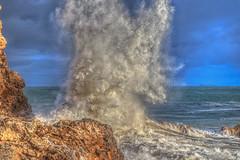 Really Big Splash (Michael F. Nyiri) Tags: palosverdespeninsulacalifornia hightide waves wavescape splash rocks sea ocean