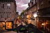 Quebec City at dusk (petespande) Tags: quebec city dusk magichour