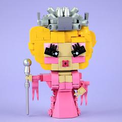 LEGO Trixie Mattel with Crown (BRICK 101) Tags: lego brickheadz