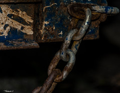 Still In Use (that_damn_duck) Tags: steel chain links chainlinks industrial rusty rust rusting