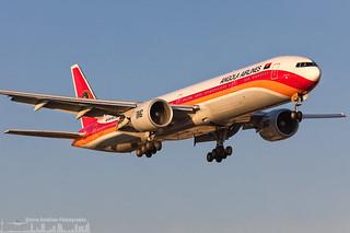 D2-TEK TAAG - Linhas Aereas de Angola Airlines Boeing 777-3M2(ER) (LIS - Lisbon)