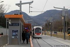 I_B_IMG_8467 (florian_grupp) Tags: asia china train railway railroad passenger electric beijing tram bagou fragranthills xijiao botanicalgardens siemens lrt haidian
