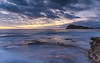 Dawn Seascape from Rock Platform (Merrillie) Tags: daybreak sunrise nature dawn rocky centralcoast morning sea newsouthwales rocks pearlbeach nsw water waterscape ocean earlymorning landscape cloudy coastal clouds outdoors seascape australia coast sky waves