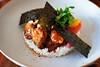 20180319-12-Japanese fried chicken with rice at Berta in Hobart (Roger T Wong) Tags: 2018 australia berta hobart iv metabones rogertwong sigma50macro sigma50mmf28exdgmacro smartadapter sonya7ii sonyalpha7ii sonyilce7m2 tasmania chicken food lunch pickles rice