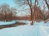 Пойма Яузы в усадьбе Свиблово (@qvestor) Tags: discover explore travel river winter moscow russia qvestor landscape