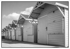 Beach huts (Steve U) Tags: fleetwood england unitedkingdom gb