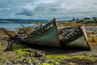 Isle of Mull | Schiffswracks bei Salen