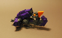 "Type-32 Rapid Assault Vehicle ""Ghost"" (iTomWalker) Tags: lego halo ghost afol moc grunt covenant"