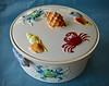 Vintage Covered Dish (BKHagar *Kim*) Tags: bkhagar dish bowl covered covereddish ceramic crab shell vintage old