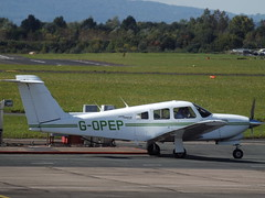 G-OPEP Piper Turbo Cherokee Arrow IV Private (Aircaft @ Gloucestershire Airport By James) Tags: gloucestershire airport gopep piper turbo cherokee arrow iv private egbj james lloyds