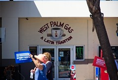 Retail (LarryJay99 ) Tags: marchtosavelives westpalmbeach florids antitrump 2018 cuban cubano latin doors windows sign paintedsign urban westpalmbeachflorida cubansandwach food retail street streetshot urbandetails