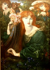La Ghirlandata by Dante Gabriel Rosetti (kitmasterbloke) Tags: guildhallartgallery london corporationoflondon city art museum victorian preraphaelite painting picture indoor