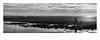 A world of discovery (Parallax Corporation) Tags: sonya7rii sonyfe85f18 blackandwhite monochrome besidetheseaside seascape windfarm crosbybeach anotherplace exploring childrenplaying panoramic cloud sand