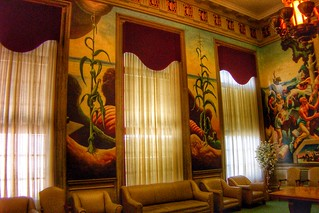 Jefferson City  Missouri ~ State Capitol  ~ The House Lounge