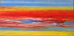 In the evening at the sea (Peter Wachtmeister) Tags: artinformel art mysticart modernart popart artbrut phantasticart minimalart acrylicpaint abstract abstrakt surrealismus surrealism hanspeterwachtmeister
