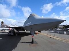 """Northrop YF-23 2 • <a style=""""font-size:0.8em;"""" href=""""http://www.flickr.com/photos/81723459@N04/39681493230/"""" target=""""_blank"""">View on Flickr</a>"""