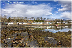 Jewel of the Highlands (Sharon Emma Photography) Tags: reflection plockton rossandcromarty jewelofthehighlands lochcarron secludedbay coralbeaches island panoramicviews traditionalhighlandatmosphere highland filmset hamishmacbeth gaelicheartland boats fishing fishingvillage snowcappedmountains sunshine iconic mountains rocky water loch sky clouds dramatic dramaticlandscape scotland scottishhebrides pictureperfect postcard picturesque view nature naturalworld wildlife wild ngc beautiful pretty ideal stunning peaceful nikon nikond7200 d7200 sharonemmaphotography sharongoldring sharonemmagoldring sharondowphotography sharondow march2018 2018 holiday travelling picturepostcard seaweed coast shore sea weather houses village