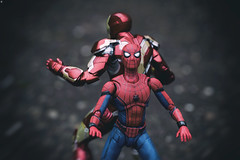 Prepare for Battle (jezbags) Tags: avengers prepare arrival thanos marvel marvelstudios shfiguarts bandai ironman spiderman infinity infinitywar battle macro macrophotography macrodreams canon canon80d 80d 100mm closeup upclose