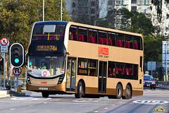 KMB Alexander Dennis Enviro 500 MMC Facelift 12m (ADL bodywork) (kenli54) Tags: kmb kowloonmotorbus alexander dennis adl enviro e500 enviro500 e50d e500mmc mmc facelift atenu atenu1000 ub8222 74a taipo bus buses doubledeck doubledecker hongkongbus hongkong