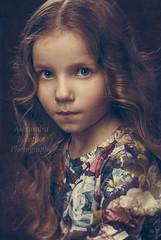 Little Miss Adely (MissSmile) Tags: misssmile child kid girl painting memories beauty gorgeous studio art artistic childhood