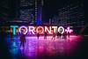 Toronto (Viv Lynch) Tags: canada ontario toronto night downtown queenstreet public strangers urban skating icerink iceskating