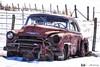 180228-47 Vieillir ensemble (clamato39) Tags: oldcars vieille auto rouille rus neige snow hiver winter beauce provincedequébec québec canada