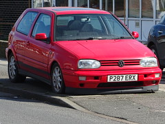 1997 Volkswagen Golf VR6 2.8 (Neil's classics) Tags: vehicle car 1997 volkswagen golf vr6 28 vw