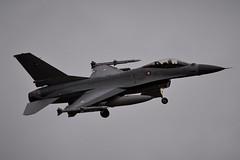 E-006 DSC_0061 (sauliusjulius) Tags: e006 fokker f16am f16 l256 built 1988 daf royal danish air force bap baltic policing quick reaction alert qra lithuania siauliai sqq eysa