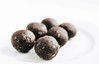Row homemade cocoa balls (wuestenigel) Tags: natural dessert bite cacao brown background healthy vegan seasonal food truffle candy homemade powder treat row white raw sugar chocolate free rolled closeup ball plate temptation texture tasty cocoa handmade delicious gourmet dark nut fancy vegetarian date sweet snack coconut organic