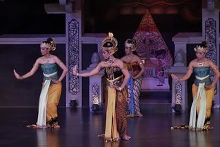 INDONESIEN,Java, Yogyakarta, Ramayana-Tanzvorführung, 17226/9736