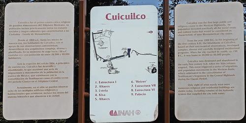 Cuicuilco pravdepodobne Olmécke obradné centrum
