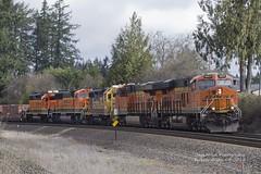 BNSF trash train (Eric S Olsen) Tags: bnsf sd75m gp382 gp392 sd60m railroad railroads locomotive locomotives