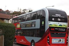 2018 03 26_6925 (djp3000) Tags: canoneosrebelt3i efs1855mmf3556isii bus gedling nct nottinghamcitytransport nctred44 red44 44 red doubledeckerbus biogas biogasbus