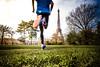 Running in Paris city (Zeeyolq Photography) Tags: running city eiffeltower sportincity paris sports runner france