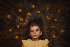Flowers in her hair (photobypawelp) Tags: flowers spring daffodils photobypawelp portrait photography people pawelpentlinowski portaiture pretty polishphotographer ps light love moody magazine nikon nikond800 nationalgeographic beauty bray creative colours children child girl greatphotographers hair art artphotography