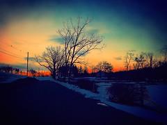 Winter Sunrise (Christian Montone) Tags: landscape winter snow storm weather newjersey montone christianmontone sun morning mood