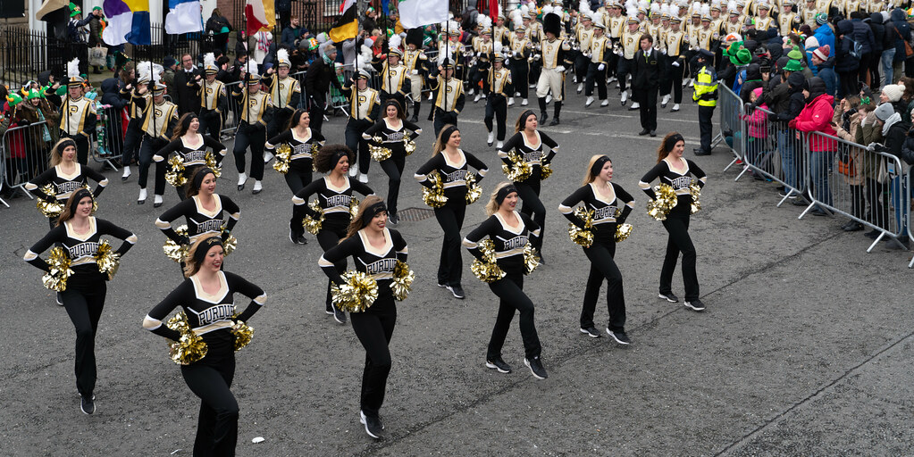 PURDUE ALL AMERICAN MARCHING BAND [DUBLIN PARADE 17 MARCH 2018]-137682