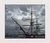 HMS Warrior (hall1705) Tags: hmswarrior portsmouth historicdockyard boat 1860 blackwhite keymission80 clouds mast hampshire ship