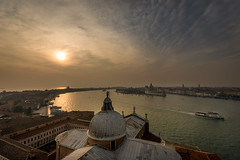 Venice sunset (hjuengst) Tags: sangiorgiomaggiore venice venedig venezia italy italien italia sunset sonnenuntergang clouds wolken