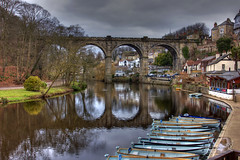 Knaresborough 22 March 2018 00034.jpg (JamesPDeans.co.uk) Tags: rowingboats landscape bridge printsforsale roads boats unitedkingdom britain wwwjamespdeanscouk history landscapeforwalls europe uk digitaldownloadsforlicence arch england ships freshwaterboats gb reflection transporttransportinfrastructure viaduct railwaybridge objects yorkshire river industry hdr camera water railway forthemanwhohaseverything greatbritain jamespdeansphotography knaresborough