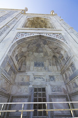 Taj Mahal - Detail (Mike Legend) Tags: india agra taj mahal