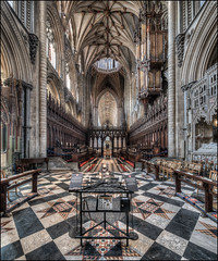 Ely Cathedral 2018 -8 (Darwinsgift) Tags: ely cathedral interior organ chancel hdr nikkor 19mm f4 pc e nikon d850