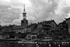 Cité médiévale d'Yvoire (David Bertholle) Tags: yvoire médiévale léman nikon d7200 noiretblanc blackwhite