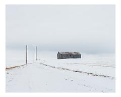 saint-patrice-de-beaurivage (Mériol Lehmann) Tags: landscape winter fields barn canada rural quebec poles beauce