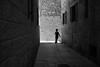 Sudden Appearance (michael.mu) Tags: jerusalem jewishquarter purim theleicameet leica m240 35mm leicasummicron35mmf20asph bw blackandwhite streetphotography carnival