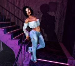 Want You To Make Me Feel Like I'm The Only Girl In The World... (Cherry Inventor) Tags: pinkcreampie addams catwa letre maitreya truth reign minimal foxcity secondlife blog fashion background 3d virtual
