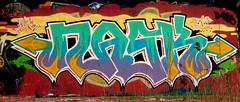 graffiti amsterdam (wojofoto) Tags: amsterdam nederland netherland holland graffiti streetart hof amsterdamsebrug flevopark halloffame wojofoto wolfgangjosten nask