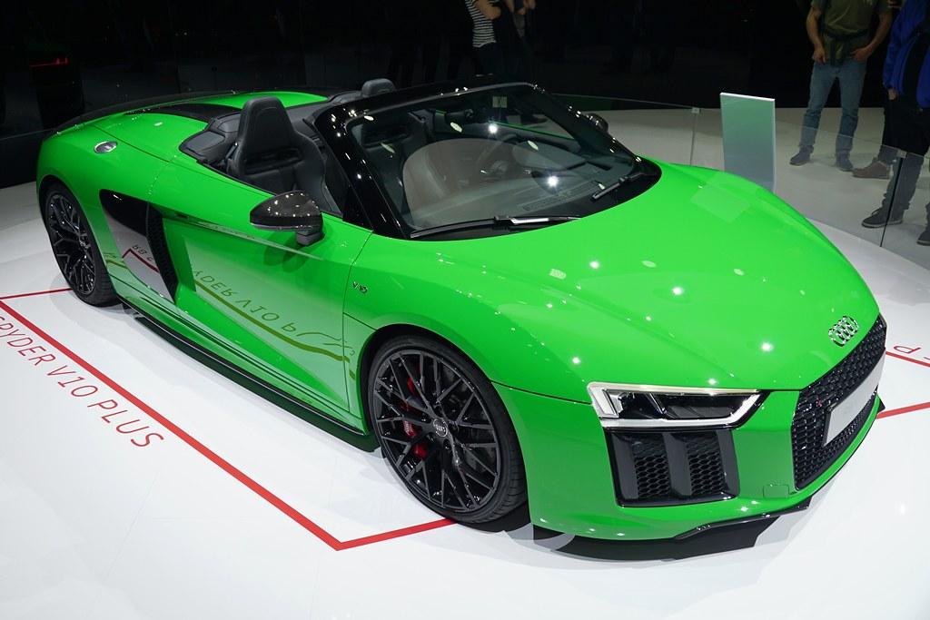 e6addfe44cef Audi R8 Spyder V10 Plus (Cédric JANODET) Tags  salon auto automobile suisse  genève